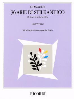 36 Arie di Stile Antico (Low Voice) (HL-00740068)