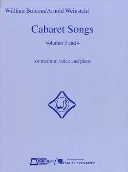 Cabaret Songs - Volumes 3 and 4 (Voice and Piano) (HL-00740106)