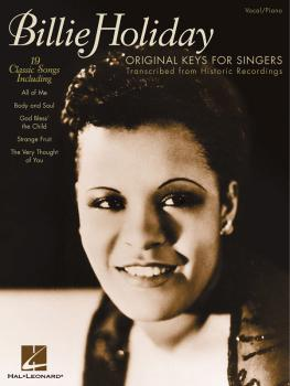 Billie Holiday - Original Keys for Singers (Transcribed from Historic  (HL-00740140)
