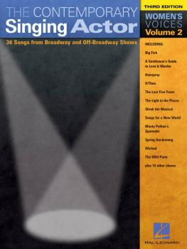 The Contemporary Singing Actor: Women's Voices Volume 2 Third Edition (HL-00740193)