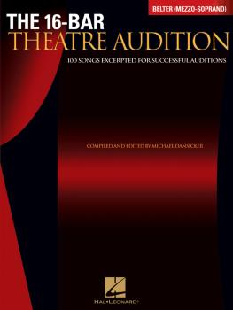 16-Bar Theatre Audition Belter (Mezzo-Soprano): Belter Mezzo-Soprano E (HL-00740254)