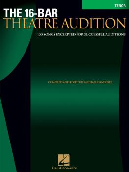 16-Bar Theatre Audition Tenor (Tenor Edition) (HL-00740255)