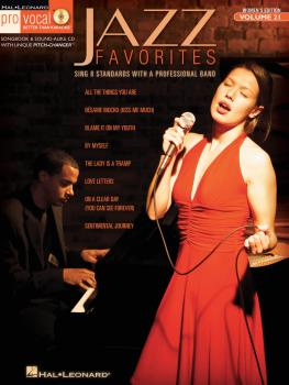 Jazz Favorites: Pro Vocal Women's Edition Volume 21 (HL-00740354)
