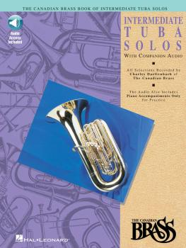 Canadian Brass Book of Intermediate Tuba Solos (with a CD of performan (HL-00841152)
