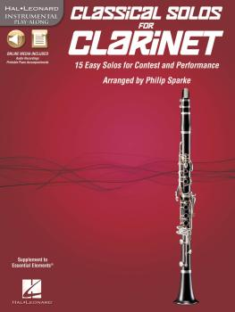 Classical Solos for Clarinet: 15 Easy Solos for Contest and Performanc (HL-00842545)