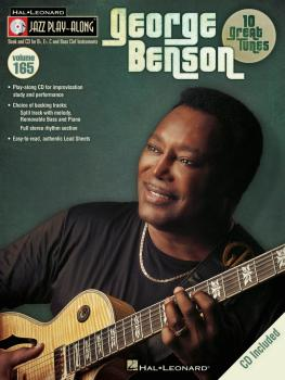 George Benson: Jazz Play-Along Volume 165 (HL-00843240)