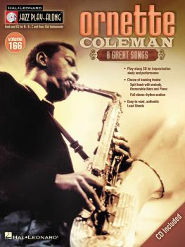 Ornette Coleman: Jazz Play-Along Volume 166 (HL-00843241)