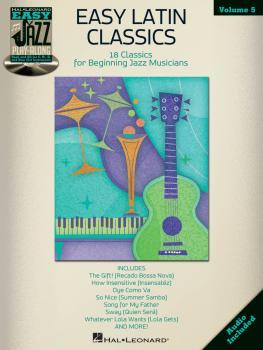 Easy Latin Classics: Easy Jazz Play-Along Volume 5 (HL-00843242)