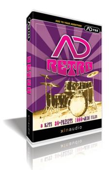 AD Retro: Addictive Drums ADpak (XL-00102437)