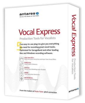 Vocal Express: Production Tools for Vocalists (AN-00102497)
