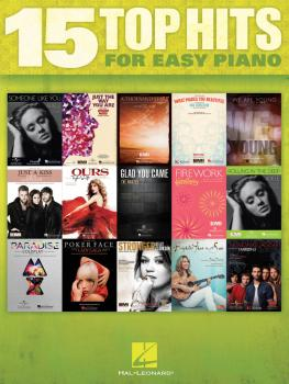 15 Top Hits for Easy Piano (HL-00102668)