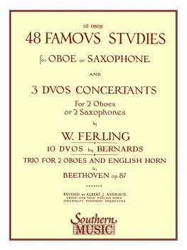 48 Famous Studies, (1st and 3rd Part) (Oboe) (HL-03770173)