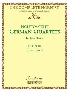 88 German Quartets: Horn Quartet - Horn 3 (HL-03770610)