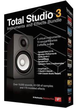 Total Studio 3: Instruments and Effects Bundle (IK-00113434)