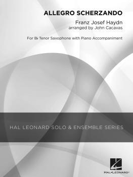 Allegro Scherzando (Grade 2.5 Tenor Saxophone Solo) (HL-04002822)