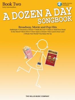 A Dozen A Day Songbook - Book 2: Early Intermediate Level (HL-00119242)