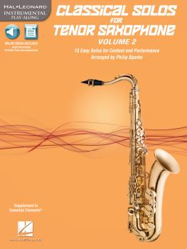Classical Solos for Tenor Saxophone, Vol. 2: 15 Easy Solos for Contest (HL-00121141)