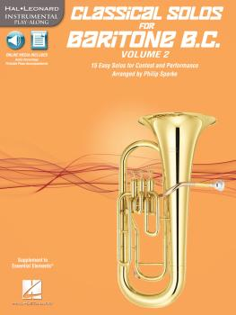 Classical Solos for Baritone B.C., Vol. 2: 15 Easy Solos for Contest a (HL-00121146)