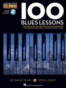 100 Blues Lessons: Keyboard Lesson Goldmine Series Book/2-CD Pack (HL-00122264)