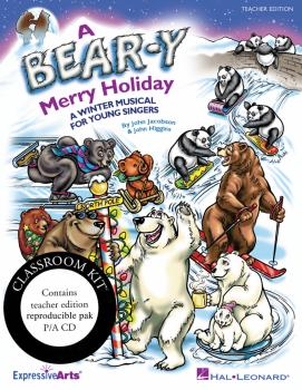 A Bear-y Merry Holiday: A Winter Musical for Young Singers (HL-09971316)