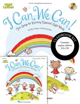 I Can, We Can!: Fun Songs for Learning Essential Sight Words (HL-09971659)