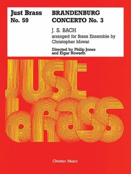 Brandenburg Concerto No. 3: Just Brass Series, No. 59 (HL-14003104)