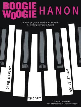 Boogie-Woogie Hanon: Progressive Exercises (Revised Edition) (HL-14004845)