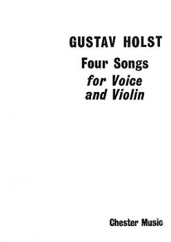 4 Songs for Voice and Violin, Op. 35 (HL-14015265)