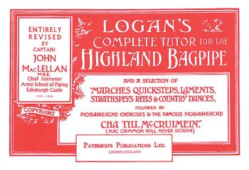Logan's Complete Tutor for the Highland Bagpipe (HL-14019348)