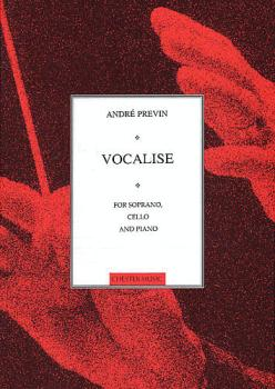 Vocalise for Soprano, Cello and Piano (HL-14026199)