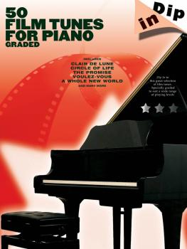 50 Film Tunes for Piano - Graded (Dip In Series) (HL-14037586)