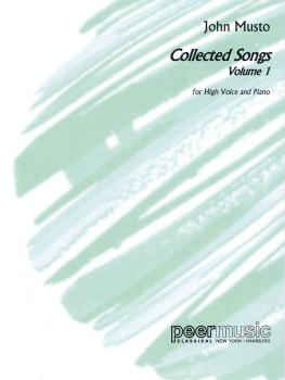 Collected Songs for High Voice - Volume 1 (High Voice) (HL-00128208)
