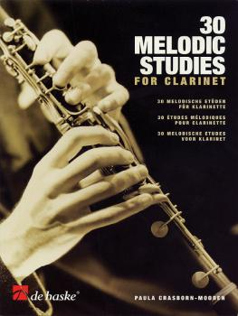 30 Melodic Studies for Clarinet (HL-44000801)