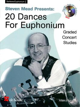 Steven Mead Presents 20 Dances for Euphonium (Treble Clef) (HL-44004119)