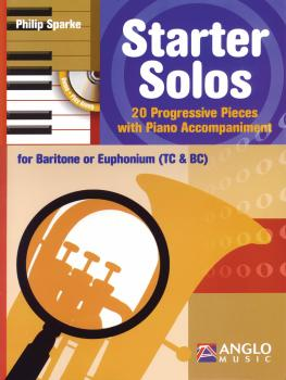 Starter Solos for Baritone or Euphonium (T.C. or B.C.): 20 Progressive (HL-44006599)