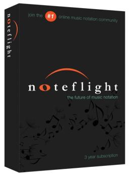 Noteflight®: 3-Year Subscription Retail Box For Composers and Arranger (NO-00137591)
