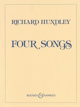 Four Songs by Richard Hundley (Voice and Piano) (HL-48008468)