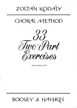 33 Two-Part Exercises (Revised Edition 1974) (HL-48009999)