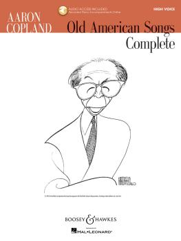 Aaron Copland - Old American Songs Complete (High Voice) (High Voice) (HL-48019953)