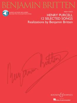 Henry Purcell: 12 Selected Songs: Realizations by Benjamin Britten Hig (HL-48019965)