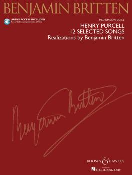 Henry Purcell: 12 Selected Songs: Realizations by Benjamin Britten Med (HL-48019966)