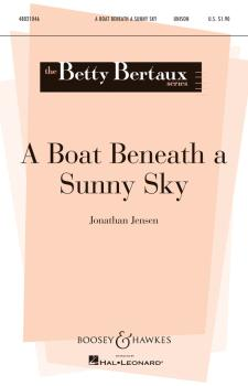 A Boat Beneath a Sunny Sky (Betty Bertaux Series) (HL-48021046)