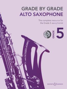 Grade by Grade - Alto Saxophone (Grade 5) (With CD of Performances and (HL-48023377)
