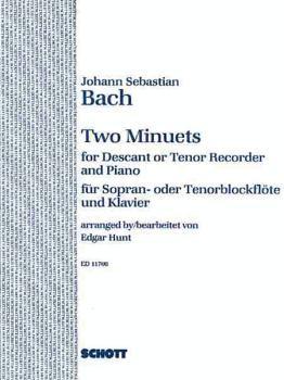2 Minuets: Soprano or Tenor Recorder and Piano (HL-49002917)