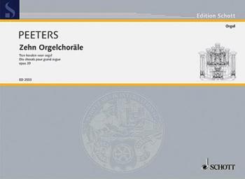 10 Organ Chorales Op. 39 (HL-49003814)
