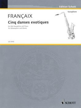 5 Danses Exotiques (1961) (Alto Sax and Piano) (HL-49005115)