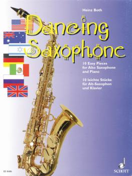 Dancing Saxophone (10 Easy Pieces) (HL-49008045)