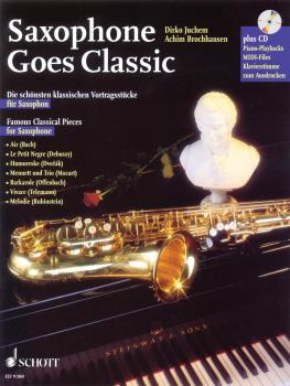 Saxophone Goes Classic: Famous Classical Pieces (HL-49008373)