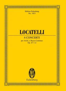 6 Concerti Op. 4 Nos. 7-12 (Study Score) (HL-49016896)