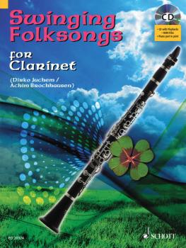 Swinging Folksongs Play-along For Clarinet Bk/cd With Piano Parts To P (HL-49016934)